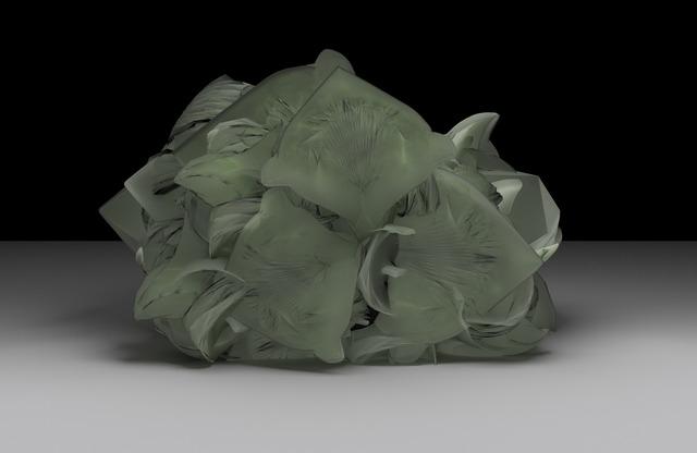 Sara Ludy, 'Cabbage Head (Energy Sponge)', 2015, Other, Dye sublimation on aluminum, bitforms gallery