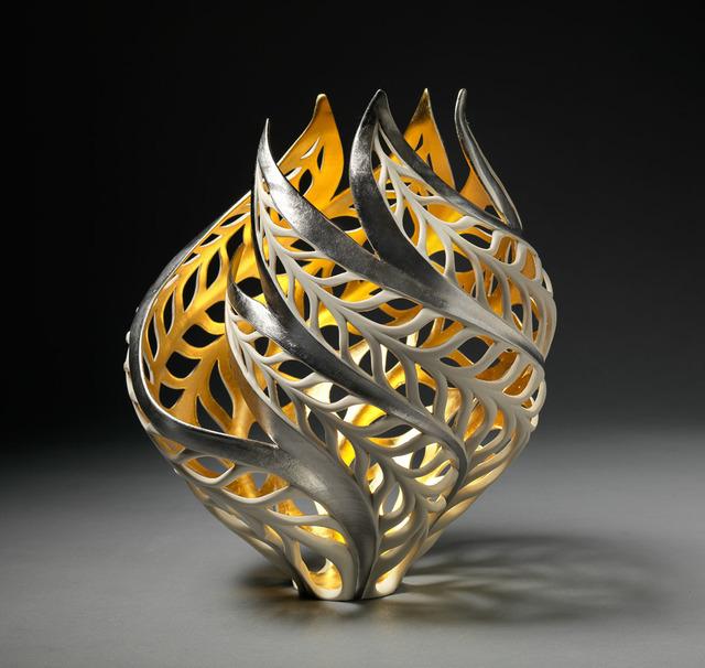 , 'Gilded Butterfly Vessel,' 2018, Steidel Contemporary