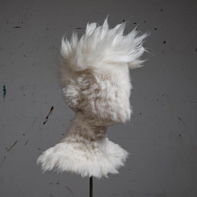 Salman Khoshroo, 'Wool Bust Experiment', 2019, Sculpture, Wool, GALERIE BENJAMIN ECK