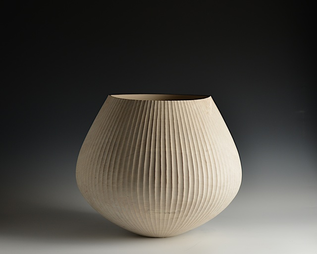 , '114 Fluted Vessel,' 2016, Sarah Myerscough Gallery