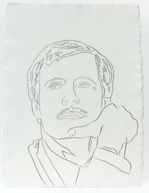 Andy Warhol, 'Andy Warhol, Graphite Work on Paper of Ted Turner, 1986', 1986, Hedges Projects