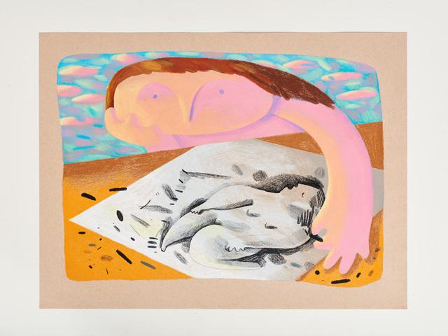, 'Drawing,' 2018, Moskowitz Bayse