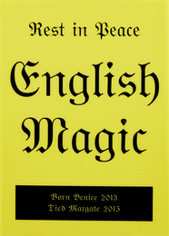 Rest in Peace English Magic