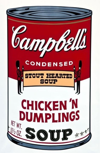 , 'Chicken 'N Dumplings from Campbell's Soup ll,' 1969, Vertu Fine Art