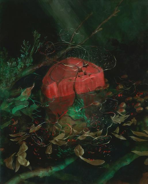 , 'Cadmium Swamp Floss,' 2016, Spoke Art