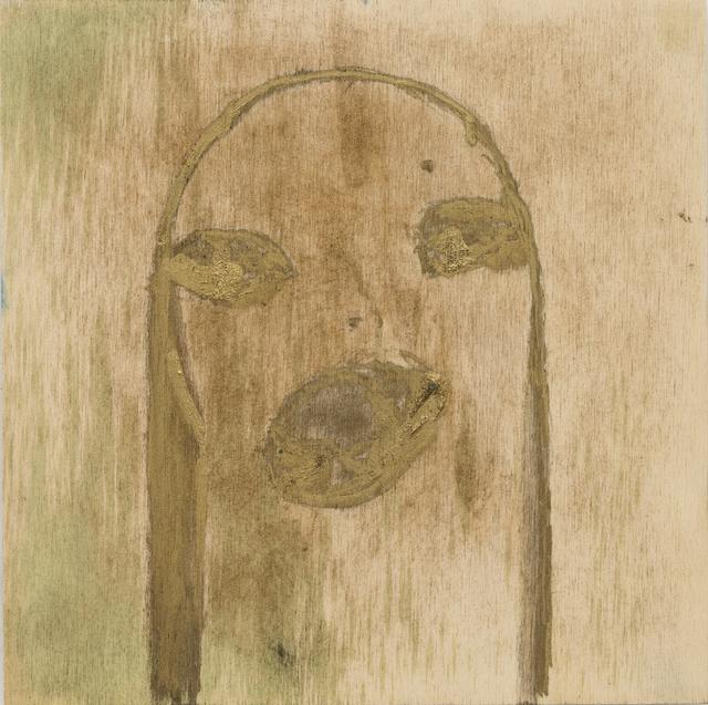, 'Untitled (gold),' , Monica De Cardenas