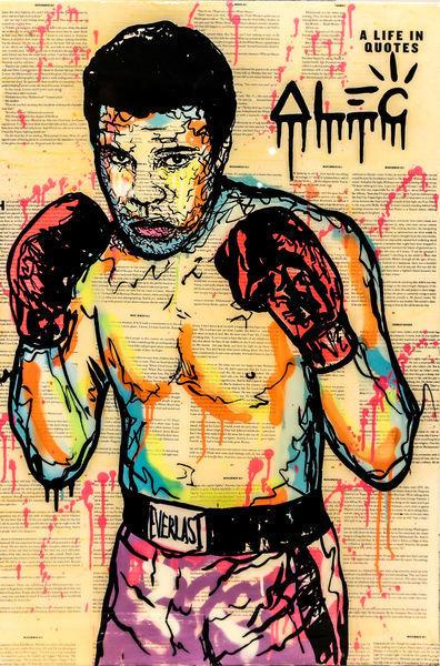 , 'Muhammad Ali,' 2017, Eden Fine Art