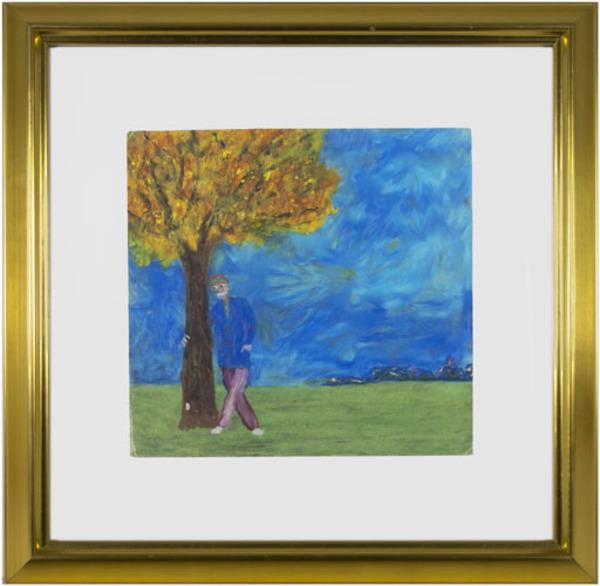 Reginald K Gee, 'Environmental Extremist Marries Maple Tree!; Swears He's Perfectly Sane; Hints Toward Offspring Possibilities', 1992, David Barnett Gallery