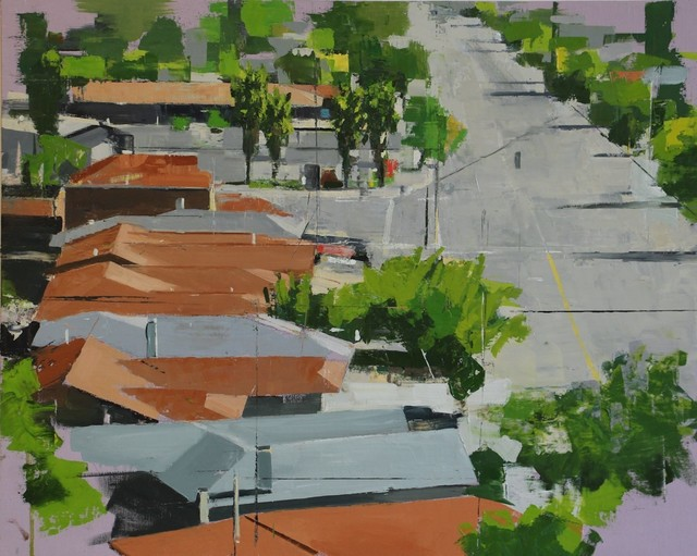 , 'Suburban Sprawl No. 15 /oil on linen ,' 2019, Andra Norris Gallery