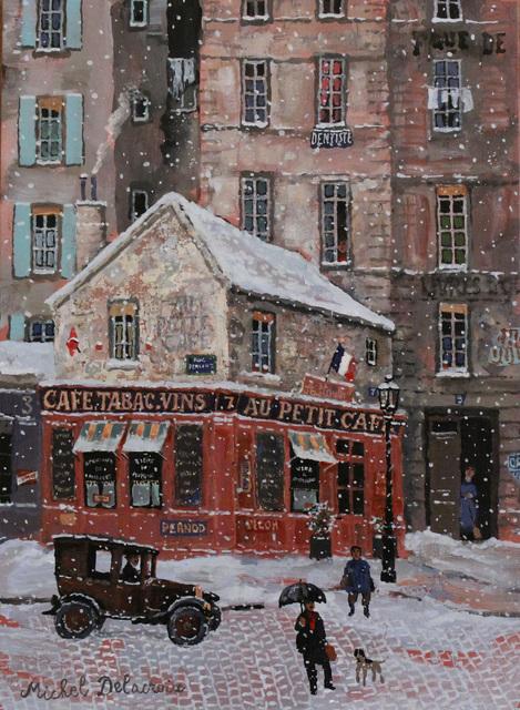 , 'Le petit Café de la rue,' , Hugo Galerie