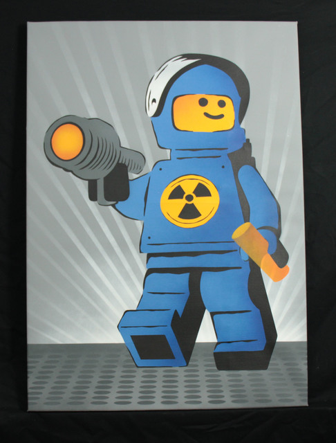 , 'Nuclear Meltdown Ame 72 original Canvas,' 2008, Landmark Street Art
