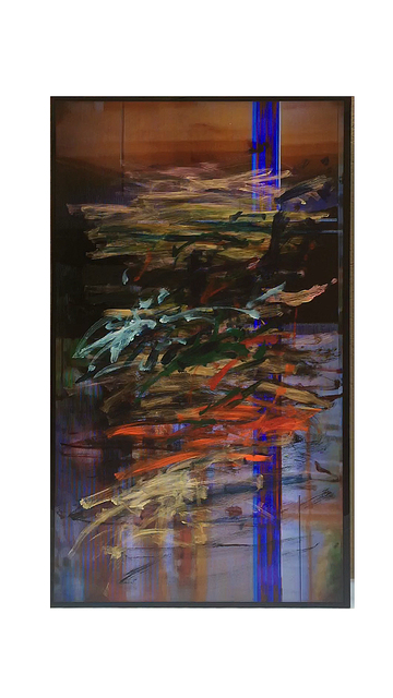 , 'gesture/data, feedback (fundació gaspar / arbeiterkammer 4 [voided], frieze london [base footage],' 2015, Pilar Corrias Gallery