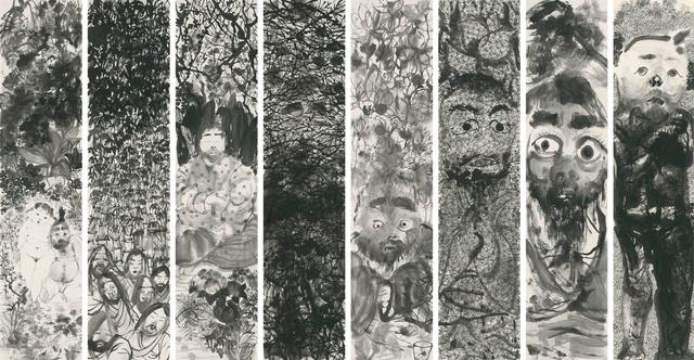 Li Jin 李津, 'Ink Adepts 墨道组画', 2016, Ink Studio