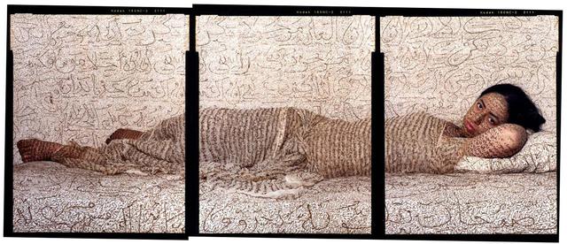 , ' Les Femmes du Maroc-Reclining Odalisque,' 2008, Jenkins Johnson Gallery
