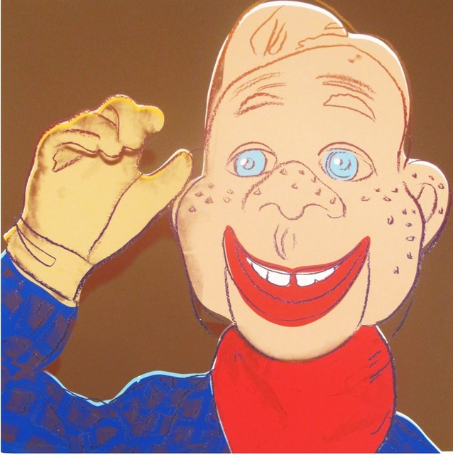 Andy Warhol, 'Howdy Doody (from Myths)', 1981, Lush Art Agency