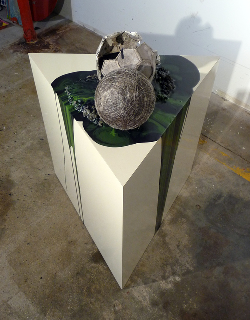 , 'Imploded Ball Barf (Umbilical) ,' 2011, Federica Schiavo Gallery
