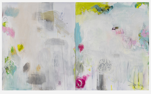 Jane Booth, 'Channels and Fields Diptych', 2019, Madison Gallery