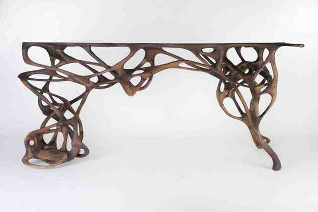 Mathias Bengtsson, 'Growth Table', 2014, Walnut, Galerie Maria Wettergren