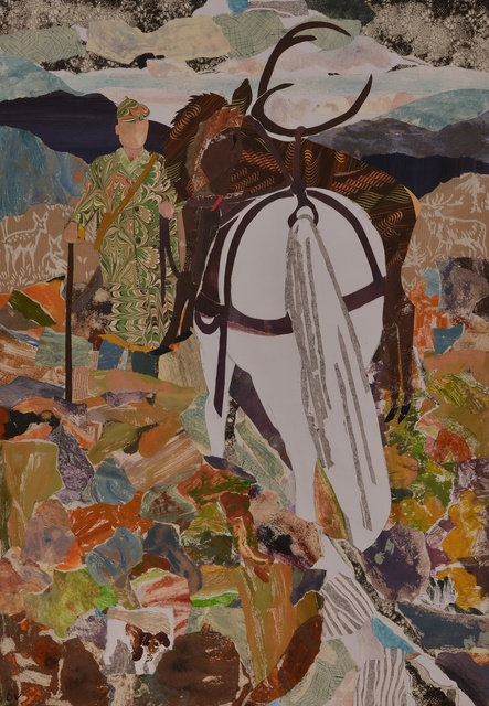 , 'Coming Home from the Hill,' 2014, Rebecca Hossack Art Gallery