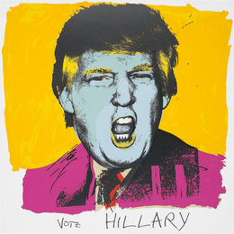 Deborah Kass, 'Vote Hillary,' 2016, Phillips: Evening and Day Editions