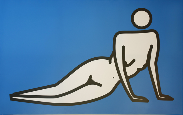 , 'Female nude leaning on both hands,' 2000, Opera Gallery