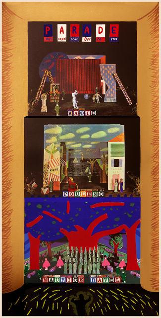 David Hockney, 'A French Triple Bill (Metropolitan Opera) ', 1982, Petersburg Press