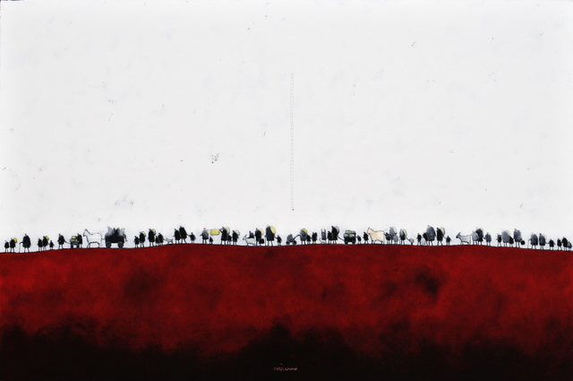 , 'Exodus Red,' 2017, Gallery 133