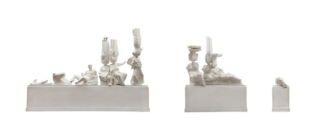 , 'Eternity (Greek Parthenon East Pediment Statues, Chinese Ancient Buddha Statues),' 2013, MadeIn Gallery
