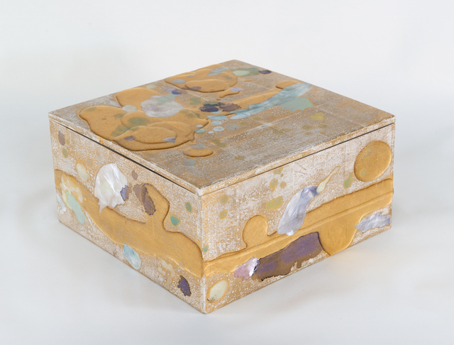 , 'Red Gold and Mother of Pearl Box,' 2017, PDX CONTEMPORARY ART