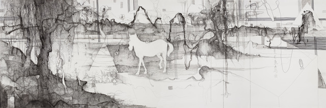 , 'Time, as the White Horse Flashing by 白驹过隙,' 2012, Galerie Dumonteil