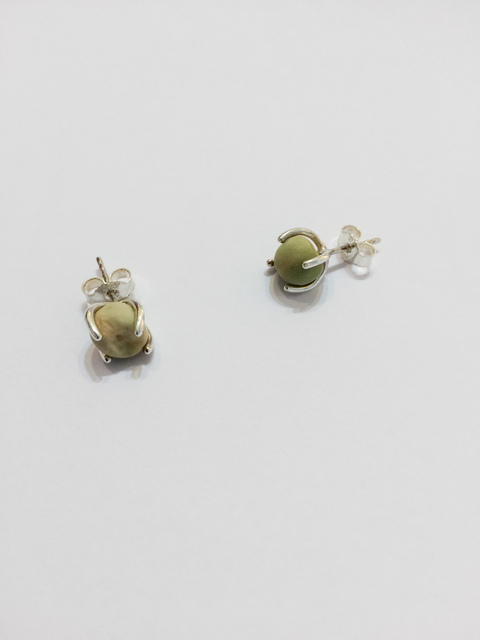 Anna-Sophie Berger, 'Pea Earrings', 2015, JTT Gallery