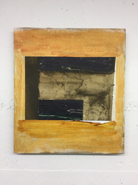 , 'Untitled (Orange linen),' 2017, Ribordy Contemporary