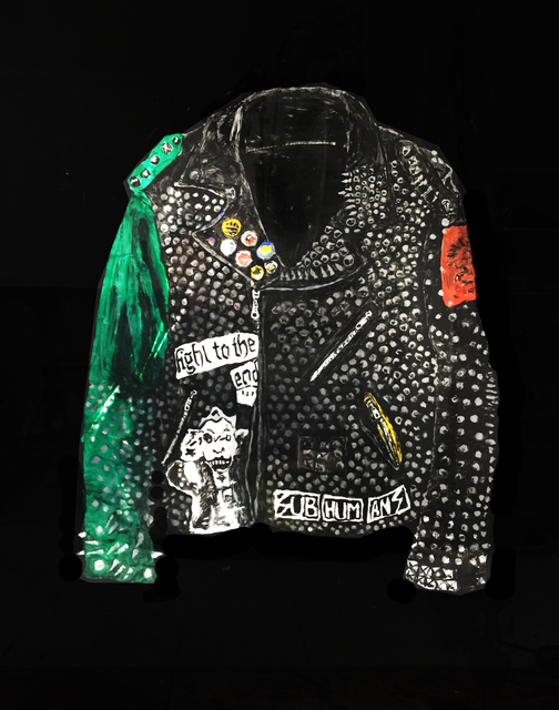 , 'Jacket with Green Sleeve,' 2018, V1 Gallery