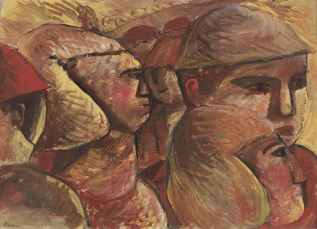 , 'Caras,' ca. 1966, Galería de las Misiones