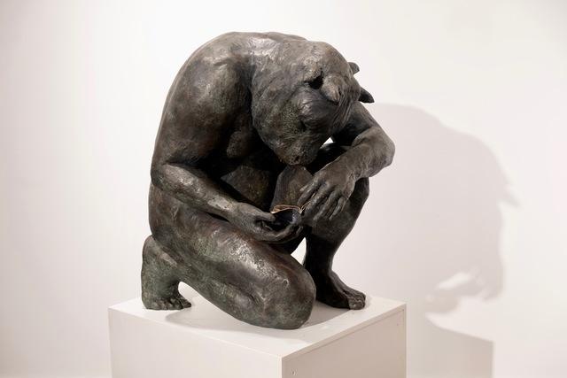 , 'Crouching Minotaur (giant),'  , Hugo Galerie