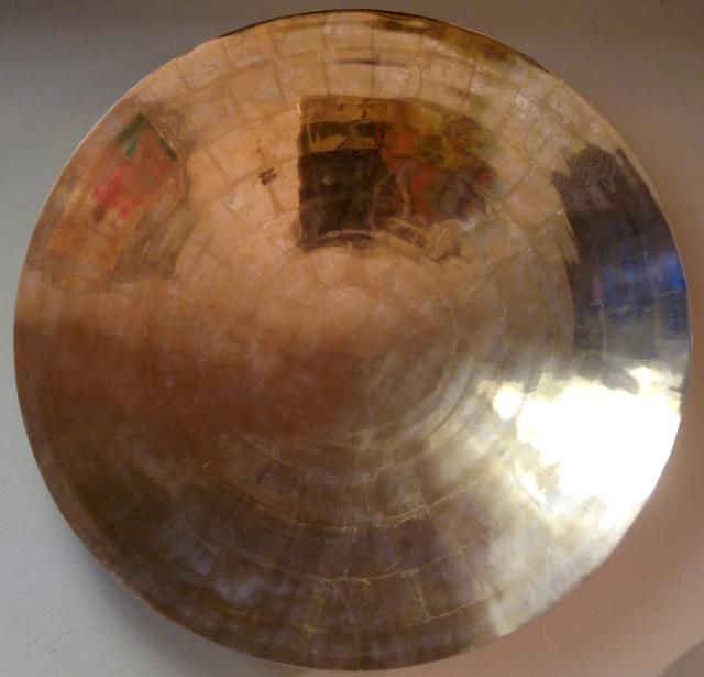 , 'Aluminum Disc I,' 2014, Yares Art Projects