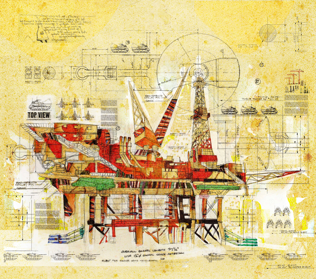 , 'Platform-25.292819,-90.016479,' 2014, Meem Gallery
