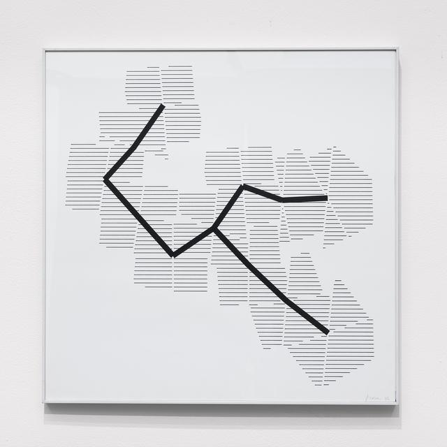 , 'P-395-D1,' 1986, bitforms gallery