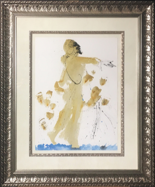 Salvador Dalí, 'Jesus Walking On The Sea', 1967, Print, Original colored lithograph on heavy rag paper, Baterbys