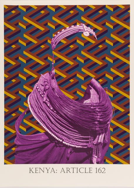 Matt Smith, 'Kenya: Article 162', 2019, Print, Silkscreen Print on Handmade Indian Cotton Paper, Cynthia Corbett Gallery