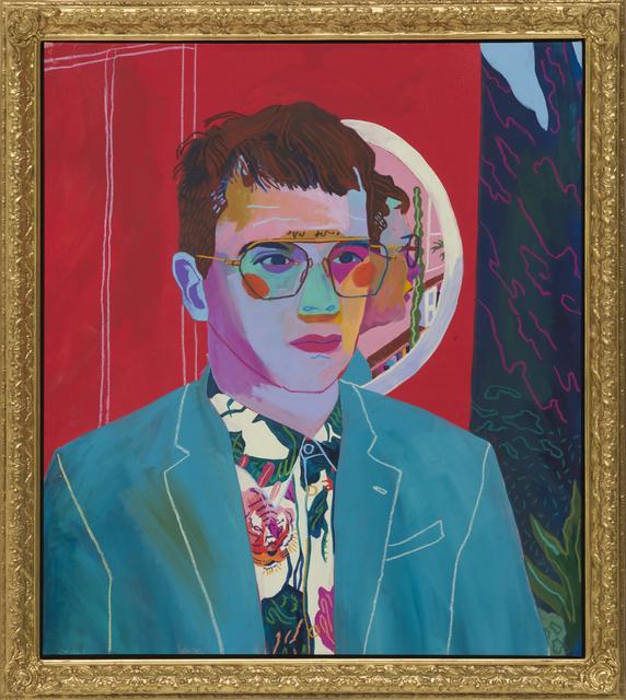 , 'Self Portrait with Mirror ,' 2018, Wilding Cran Gallery