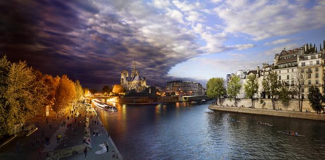 , 'Pont de la Tournelle, Paris,' 2013, Bryce Wolkowitz Gallery