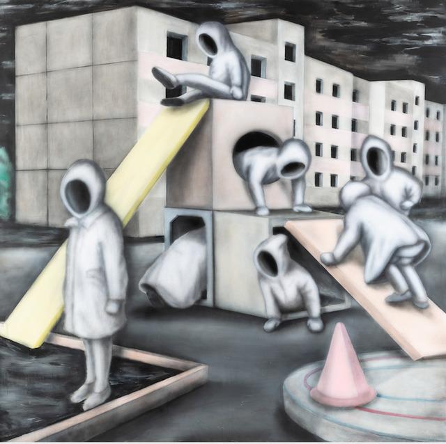 , 'Cat Climbs through a Hole, Dog through a Window,' 2018, Urban Spree Galerie