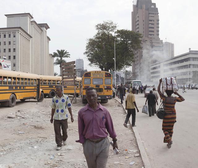 , 'Boulevard 30 Juin, Kinshasa, Congo,' 2011 / 2012, Looiersgracht 60