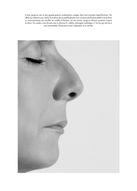 Sophie Calle, 'Le Nez / The Plastic Surgery *', Print, Digital print on 100% cotton paper, Perrotin