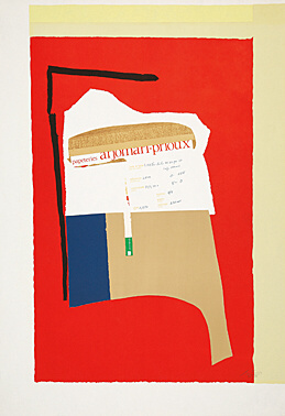 Robert Motherwell, 'America - la France Variations I', 1983, Galerie Boisseree