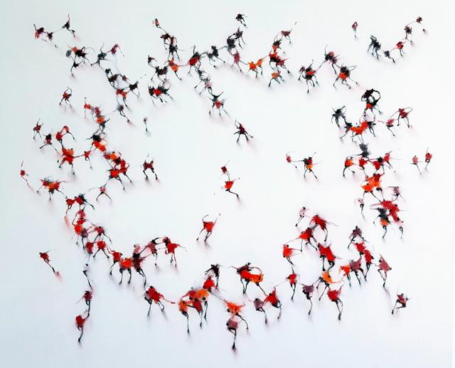 , 'Mandala Cadmine,' 2015, Galerie Olivier Waltman | Waltman Ortega Fine Art