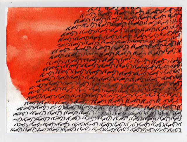 Sepideh Salehi, 'Roosari from School series', 2016, Drawing, Collage or other Work on Paper, Ink, pencil, and collage on paper, Center for Human Rights in Iran Benefit Auction