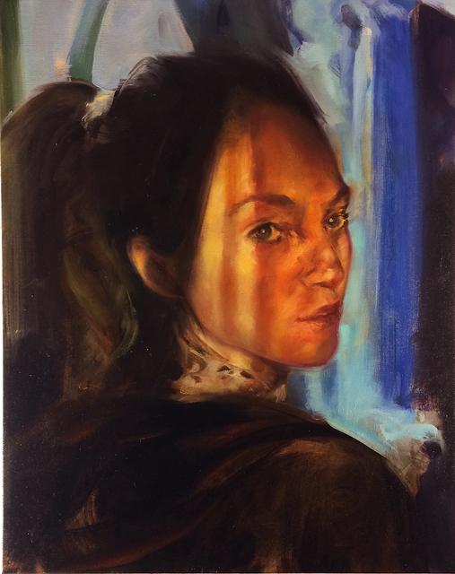 , 'Tess Looking Back,' 2016, Studio 21 Fine Art
