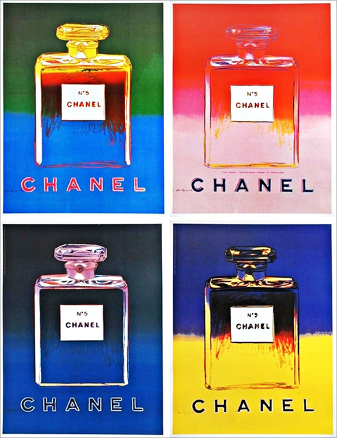 , 'Chanel No. 5, Suite of Four (4) Large Individual (separate) Lithographs on linen backing ,' 1997, Alpha 137 Gallery